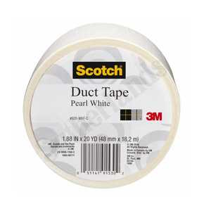 3M 920-WHT-C Colored Duct Tape White 1.88x20yd