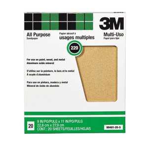 Pro-Pak 99405 Alox Pack Sandpaper 80d 9 In X 11 In 25pk