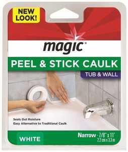 Magic American MC156T Bathtub Caulk Moulding 3/4 in x 11 ft White
