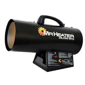 Mr Heater F271350 Forced Air Propane Heater 38,000 Btu