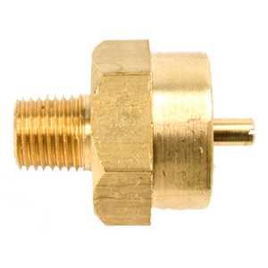 Mr Heater F273754 1/4 In Male Pipe Thread X 1 In -20 Female Throwaway Cylinder Thread