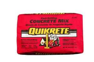 Quikrete 1004-50 Fast Setting Concrete Mix 50lb
