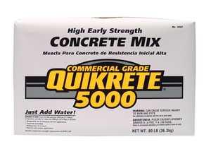 Quikrete 1007-00 Quikrete 5000 80lb