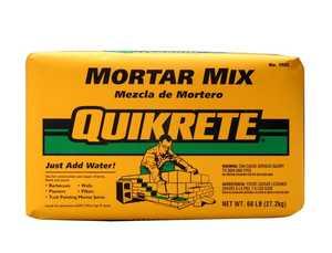 Quikrete 1102-60 Mortar Mix 60lb Quikrete