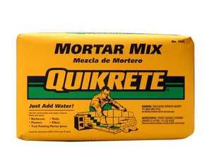 Quikrete 1102-80 Mortar Mix 80lb Quikrete