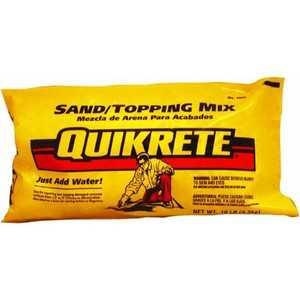 Quikrete 1103-10 Sand Mix 10lb Quikrete