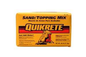 Quikrete 1103-60 Sand Mix 60lb Quikrete