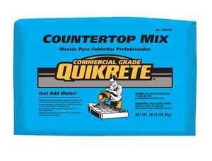Quikrete 1106-80 Countertop Concrete Mix Gray 80#