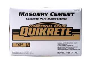 Quikrete 1125-70 Masonry Type N 70lb