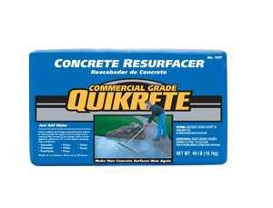 Quikrete 1131-40 Concrete Resurfacer 40lb