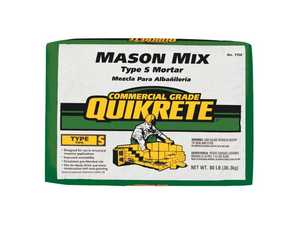 Quikrete 1136-80 Mason Mix Type S 80lb