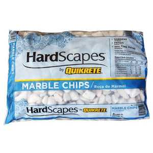 Quikrete 1175-00 Marble Chip White .5cu Ft