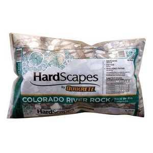 Quikrete 1175-65 Colorado River Rock .5cu Ft