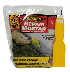 Quikrete 1241-15 Zip N Mix Repair Mortar 3lb