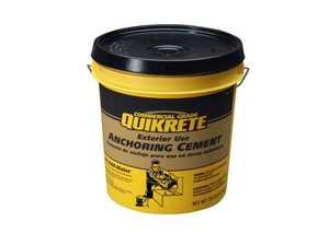 Quikrete 1245-20 Anchoring Cement 20lb