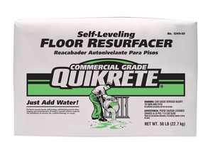 Quikrete 1249-51 Fast Set Floor Resurfacer 50lb