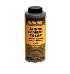 Quikrete 1317-01 Cement Color Brown 10 oz