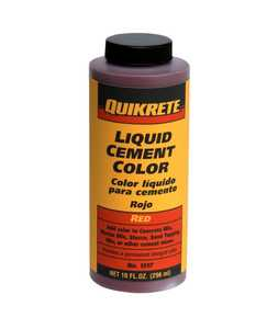 Quikrete 1317-03 Cement Color Red 10 oz