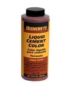 Quikrete 1317-04 Cement Color Terra Cotta 10 oz