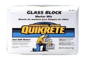Quikrete 1610-00 Glass Block Mortar 50lb White
