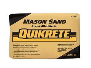 Quikrete 1961-56 Mason Sand 50lb