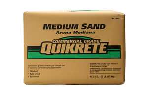 Quikrete 1962-51 Sand Commercial Medium #30 50#