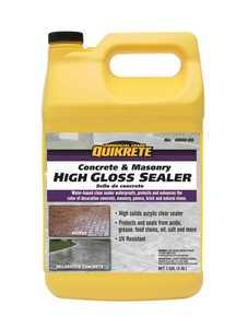 Quikrete 8800 Concrete & Masonry High Gloss Sealer Gal