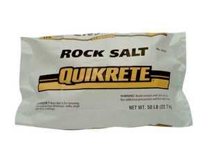 Quikrete 9002-50 Rock Salt 50lb