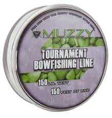 Muzzy Outdoors 1076 Tournament Bowfishing Line (150 Ft /150lb.)