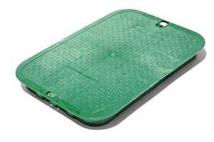 NDS 117C 13 In X 20 In Jumbo Valve Box Cover, Green