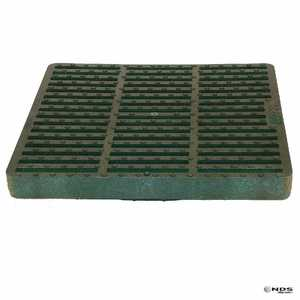 NDS 12025DG 12 In Square Grate, Green