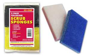 Nation Ruskin 14-IR2 Cellulose Scrub Sponge 2pk