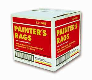 Nation Ruskin 42-5PRW-48 Painters Rags 5lb Bx New White