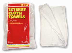 Nation Ruskin 42-TT12HD White Cotton Terry Towels 100% 12pk