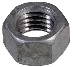 Hillman 810512 1/2-13 Hex Finished Nut (Tapped Oversized), Coarse Thread