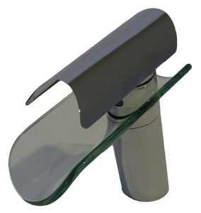 Novatto GF-084CH-C Faucet Curvo Chrome/Clear