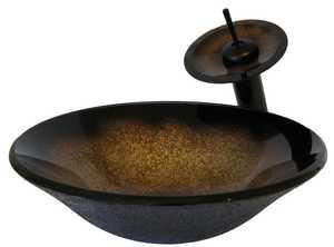 Novatto NSFC-008001ORB Sanguinello Vessel Set Oil Rubbed Bronze