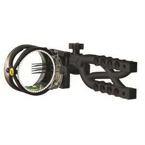 Trophy Ridge AS605 Trophy Ridge Cypher 5 Pin Bow Sight, Black # As605