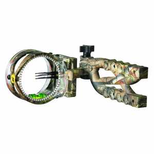 Trophy Ridge AS613 Trophy Ridge Cypher 3 Pin .019 Bow Sight, Black
