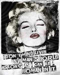 Nostalgic Images PG-770 Marilyn Monroe Kiss Metal Sign