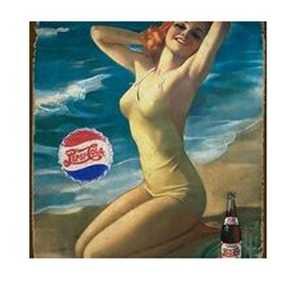 Nostalgic Images BG-777 Pepsi Metal Sign