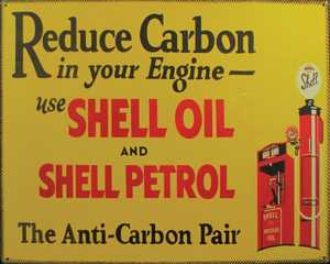 Nostalgic Images TG-800 Shell Oil Metal Sign