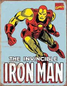 Nostalgic Images PD-1650 Iron Man Retro Metal Sign