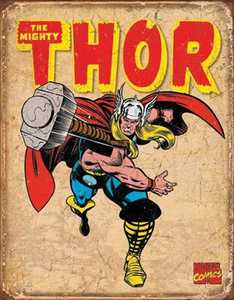 Nostalgic Images PD-1739 Thor Retro Metal Sign