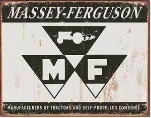 Nostalgic Images TD-1504 Massey Ferguson Metal Sign