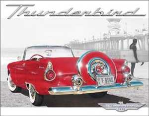 Nostalgic Images TD-1271 Thunderbird Beach Metal Sign