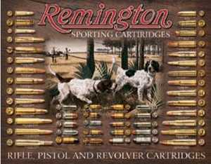 Nostalgic Images OD-1679 Remington Sporting Cartridges Metal Sign