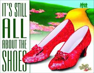 Nostalgic Images CD-1904 About The Shoes Metal Sign