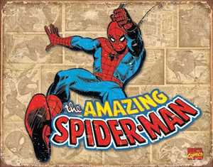 Nostalgic Images PD-1737 Spiderman Retro Metal Sign