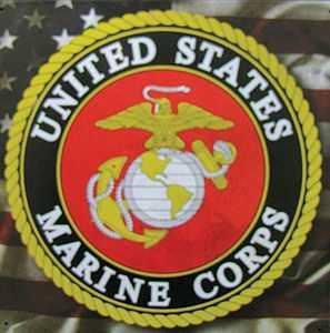 Nostalgic Images CG-783 United States Marine Corps Metal Sign